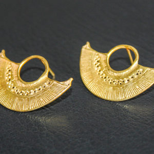 "Boucles d'oreilles ""Nariguera"" (taille moyenne)"