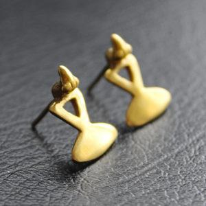 """Boucles d'oreilles """"Oiseau de Sinù"""""""