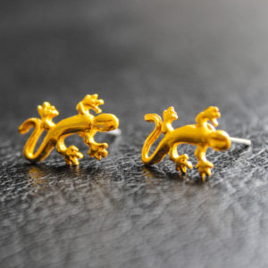 """Boucles d'oreilles """"Salamandra"""""""