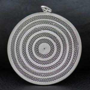 """Médaillon """"Cercles Concentriques"""" (grande taille)"""