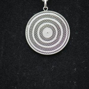 """Médaillon """"Cercles Concentriques"""" (taille moyenne)"""